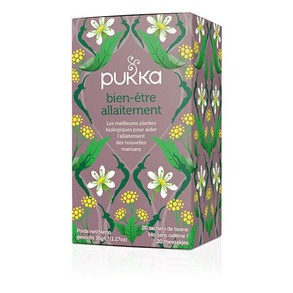 Pukka - Tisane bien-être allaitement - 20 sachets