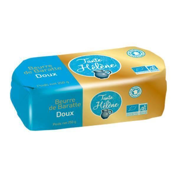 Tante Hélène - Beurre de baratte doux 250g
