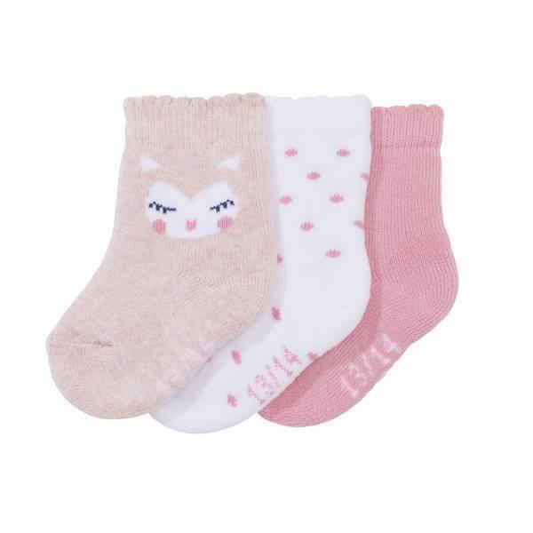 Tex Baby - 3 paires de chaussettes - Rose - 0 à 15 mois