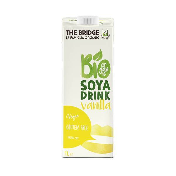 The Bridge - Boisson au Soja Vanille Bio 1L
