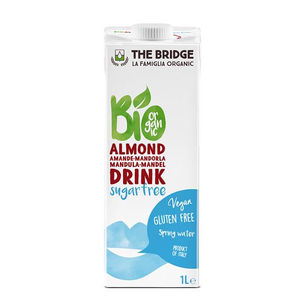 The Bridge - Boisson à l'Amande sans sucre Bio 1L