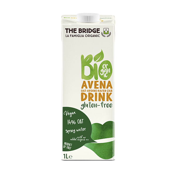 The Bridge - Boisson Avoine sans gluten Bio 1L