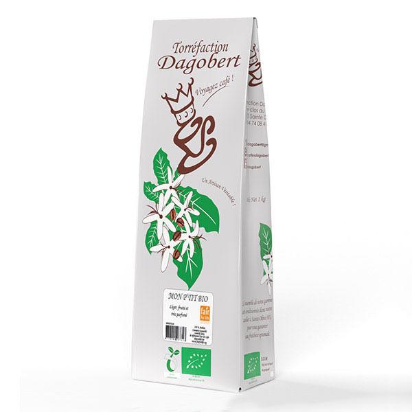 Torréfaction Dagobert - Café moulu mélange mon p'tit bio - 1 kg