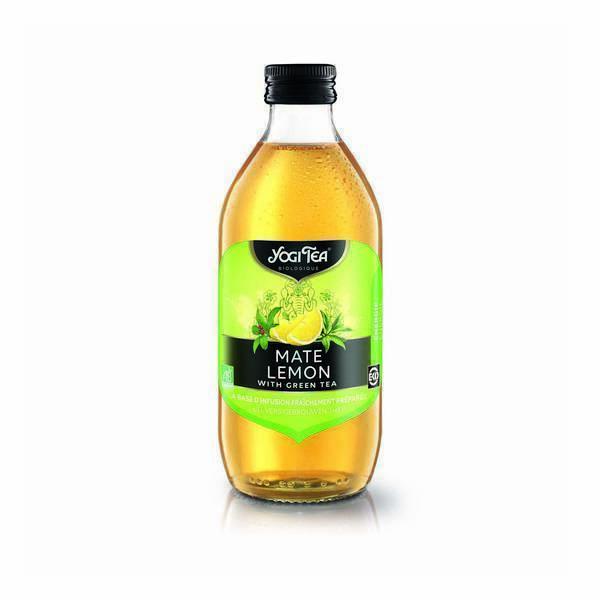 Yogi Tea - Infusion glacée mate citron 33cl