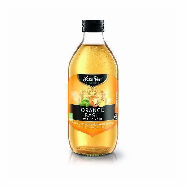 Yogi Tea - Infusion glacée orange basilique 33cl