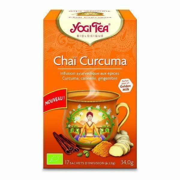 Yogi Tea - Infusion Chai Curcuma x 17 sachets