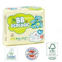 BB Ecologic - 30 Couches jetables écologiques Midi - T3, 4-9kg