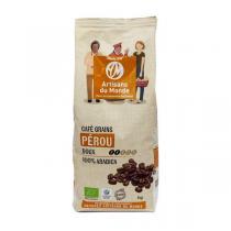 Artisans du Monde - Café grains Pérou Bio 1kg