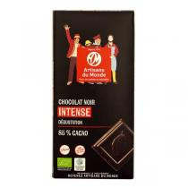 Artisans du Monde - Chocolat noir degustation 85% Bio 100g