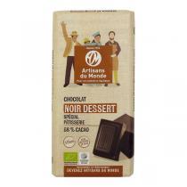 Artisans du Monde - Chocolat Noir dessert 58% Bio 200g