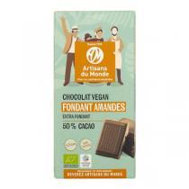 Artisans du Monde - Chocolat fondant Amandes bio vegan 100g
