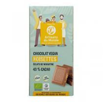 Artisans du Monde - Chocolat Noisettes bio vegan 100g