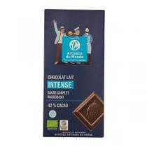 Artisans du Monde - Chocolat au Lait 42% cacao Bio 100g