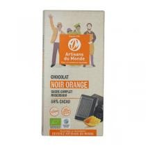 Artisans du Monde - Chocolat Noir 58% Orange Bio 100g