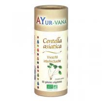 Ayur-Vana - Centella Asiatica bio - 60 gélules végétales