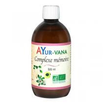 Ayur-Vana - Complexe Mémoire bio - 500 ml