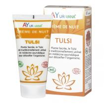 Ayur-Vana - Crème de nuit Tulsi bio - 75 ml