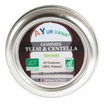 Ayur-Vana - Gommes Tulsi & Centella bio - 45 g