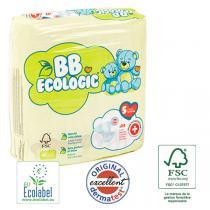 BB Ecologic - 24 Couches jetables écologiques Midi - T5, 12+-25kg