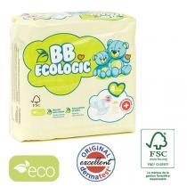 BB Ecologic - 28 Couches jetables écologiques Maxi - T4, 7-18kg