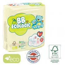 BB Ecologic - Lot 4x24 Couches jetables écologiques Midi - T5, 12+-25