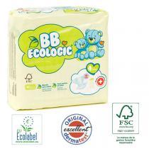 BB Ecologic - Lot 4x28 Couches jetables écologiques Maxi - T4, 7-18kg