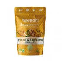 Beendhi - Assaisonnement Curcuma, gingembre et coriandre 40g