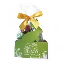 Belvas - Oeufs de Pâques assortiment bio - 150 g