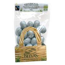 Belvas - Oeufs de Pâques Chocolat noir plein bio - 150 g