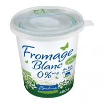 Biochamps - Fromage blanc vache 0% 400g