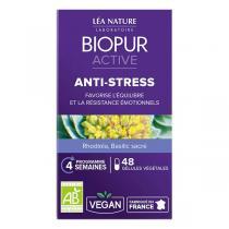 Biopur - Gélules végétales Anti-stress x 48