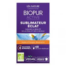 Biopur - Gélules végétales éclat de la peau x 48