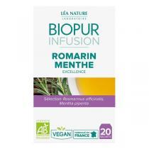Biopur - Infusion Romarin Menthe Poivrée 20 sachets