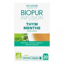 Biopur - Infusion Thym menthe 20 sachets