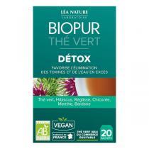 Biopur - Thé vert Détox 20 sachets