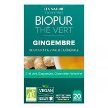 Biopur - Thé vert Gingembre 20 sachets
