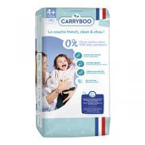 Carryboo - 46 Couches T4+ (9-20kg) Dermo-Sensitives à Motifs