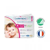 Carryboo - Lot 6x23 Couches écologiques - Taille 4 - 7-18kg