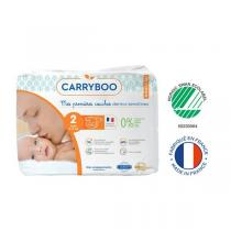 Carryboo - Lot 3x30 Couches écologiques - Taille 2 - 3-6kg