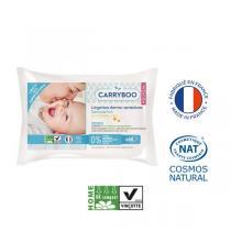 Carryboo - Lot 2x58 Lingettes bébé Compostables au Calendula
