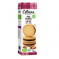 Céliane - Mini biscuits fourrés cacao 125g