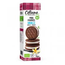 Céliane - Mini biscuits fourrés vanille 125g