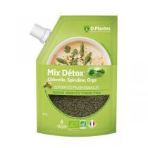 D.Plantes - Mix Détox - Chlorelle Spiruline Orge bio - 125 g