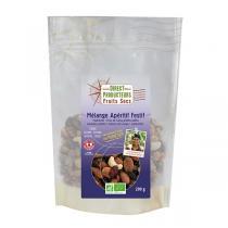 Direct producteurs Fruit secs - Mélange Apéritif festif bio - 200 g