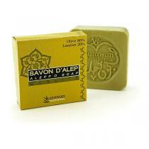 Karawan - Savon d'Alep - 80% olive 20% laurier - 100 g
