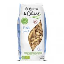 Céliane - Fusilli riz bio et sans gluten - 500 g