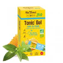 Meltonic - Pack gels énergétiques Tonic' Gel Coup de frais bio 8 x 20g