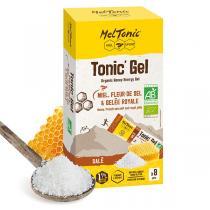 Meltonic - Pack gels énergétiques Tonic' Gel Salé bio 8 x 20g