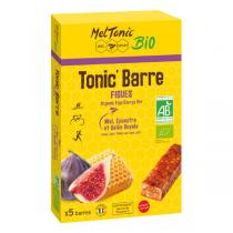 Meltonic - Tonic'Barre Figues bio - 5 barres de 25 g