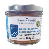 Pêcheurs Bretons - Rillettes sardines tomates séchées 100g